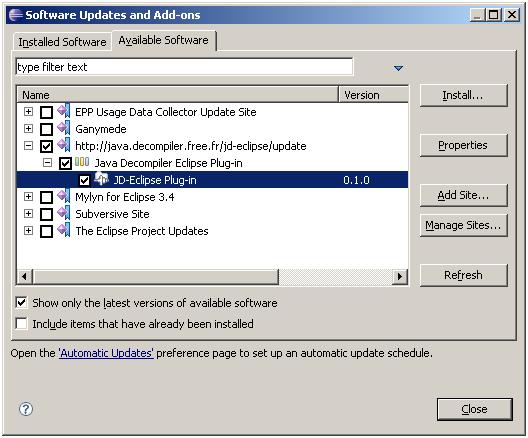 java decompiler for mac lion